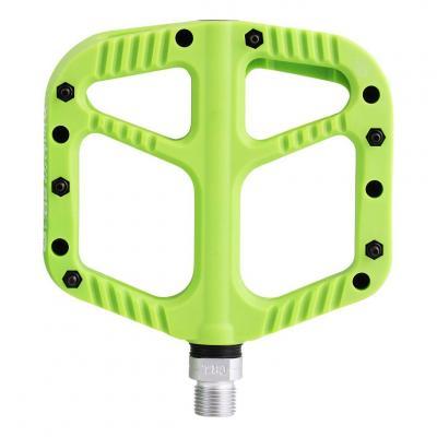 Pédales Plates VTT SB3 Flowy Nylon Vert