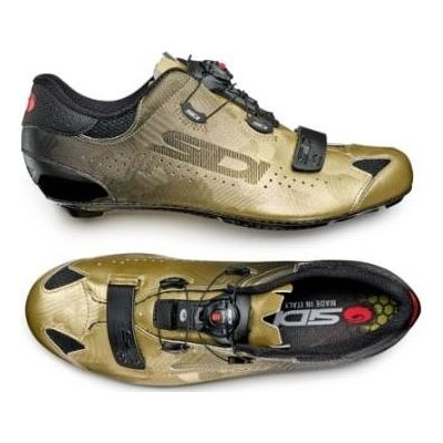 Chaussures route Sidi Sixty Limited Edition Or