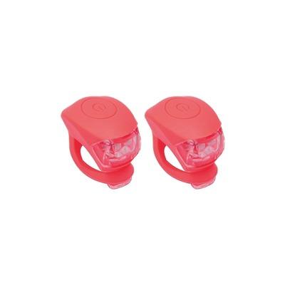 Kit d'éclairage avant + arrière Urban Proof LED Silicone Rouge