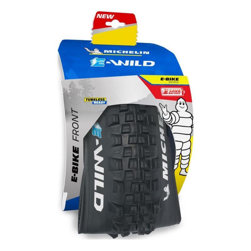 Pneu Michelin E-Wild Avant Gum-X 27.5x2.60 TS Noir - 1