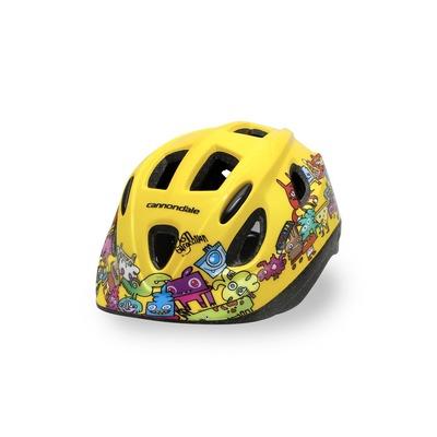 Casque vélo enfant Cannondale Burgerman Colab Kids Jaune
