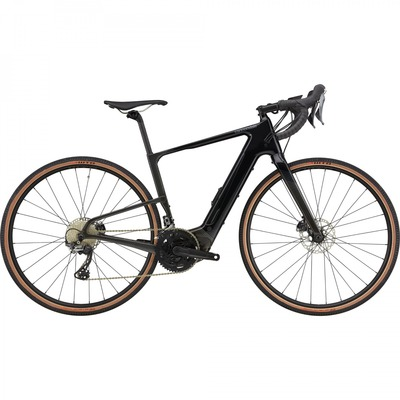Vélo de gravel électrique Cannondale Topstone Neo Carbon 2 GRX Black Pearl 2021