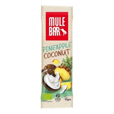 Barre énergétique Mulebar Ananas, Coco, baies de goji 40 g
