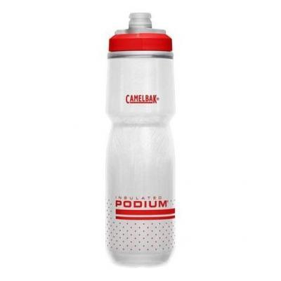 Bidon isotherme CamelBak Podium Chill 710 ml Blanc/Rouge