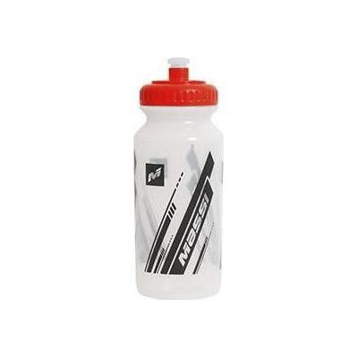 Bidon Massi Basic 500 mL Blanc Transparent/Rouge