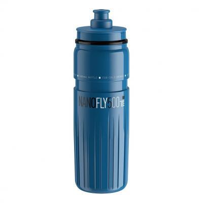 Bidon Thermique Elite Nanofly 500 mL Bleu