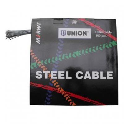 Câbles de dérailleur Marwi Acier 1,2 mm L. 2,10 m pour Shimano (Boîte de 100)