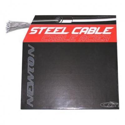 Câbles de dérailleur Newton Inox renforcé 1,2 mm L. 2,10 m pour Shimano (Boîte de 100)