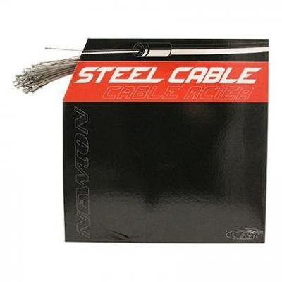 Câbles de frein route Newton Inox renforcé 1,6 mm L. 1,80 m pour Shimano (Boîte de 100)