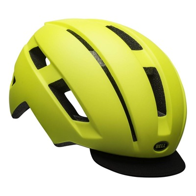 Casque Bell Daily LED Jaune