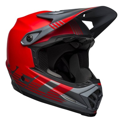Casque Bell Full-9 Fusion MIPS Gris/Rouge