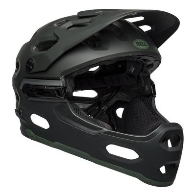 Casque Bell Super 3R MIPS Noir/Vert Mat