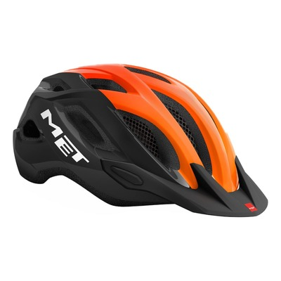 Casque MET Crossover Noir/Orange