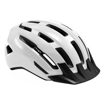 Casque MET DownTown Blanc