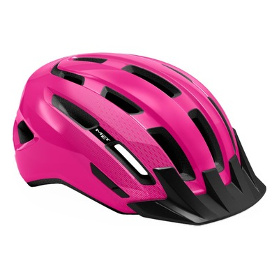 Casque MET DownTown Rose