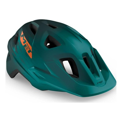 Casque MET Echo Vert Alpine Orange