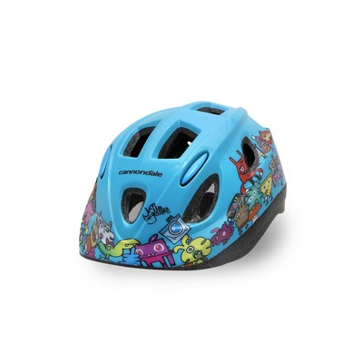 Casque vélo enfant Cannondale Burgerman Colab Kids S/M Bleu