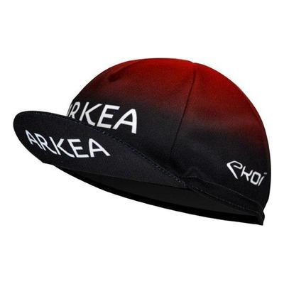 Casquette Équipe de cyclisme Pro Arkea Noir/Rouge