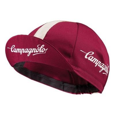 Casquette vélo Campagnolo Rouge