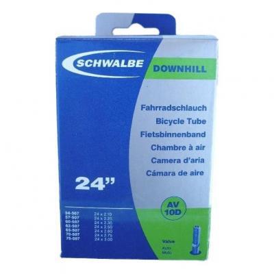 Chambre à air Schwalbe 24 x 2.10/3.00 renforcée AV10D Schrader 40mm