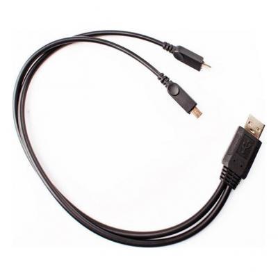 Chargeur éclairage Blackburn USB vers double Micro-USB