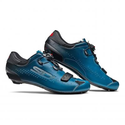 Chaussures Route Sidi Sixty Noir/Petrol