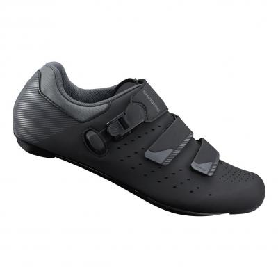 Chaussures route Shimano RP301 Pied large Noir