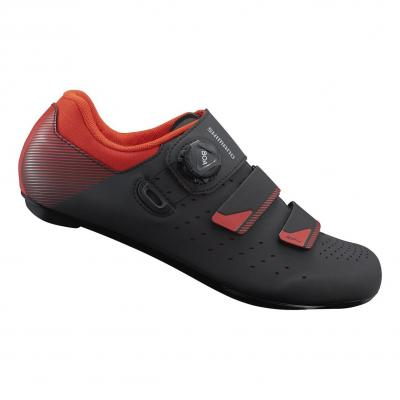 Chaussures Route Shimano RP400 Noir/Orange Rouge