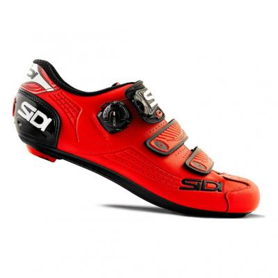 Chaussures Route Sidi Alba Rouge
