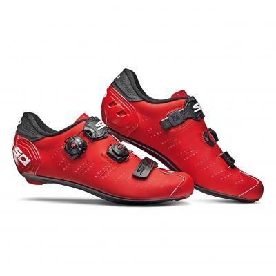 Chaussures Route Sidi Ergo 5 Rouge/Noir Mat