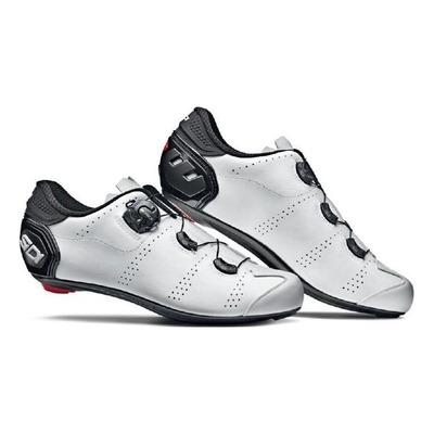 Chaussures route Sidi Fast Blanc