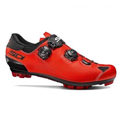 Chaussures VTT Sidi Eagle 10 Noir/Rouge Fluo