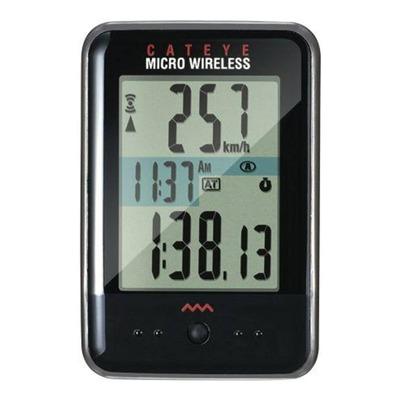 Compteur vélo Cateye Micro Wireless Noir