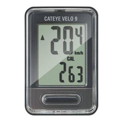 Compteur vélo Cateye Velo 9 Wired Noir