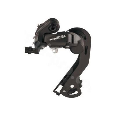 Dérailleur AR VTT MicroShift 6/7V Chape Moyenne Noir