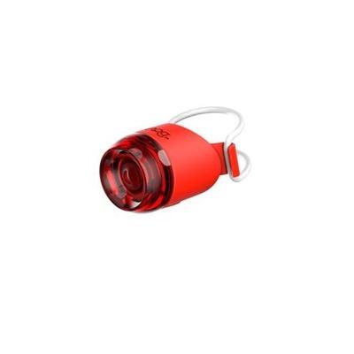 Éclairage arrière Knog Plug 10 Lumens Rouge