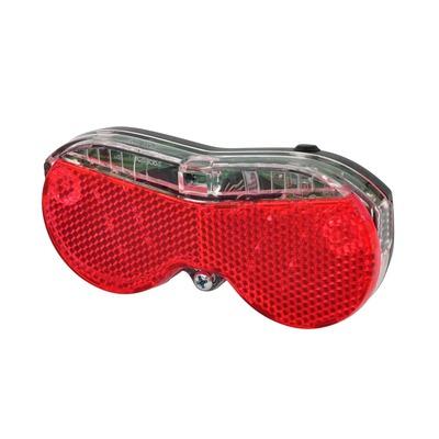 Éclairage arrière OXC Brightspot LED 50 mm Noir/Rouge