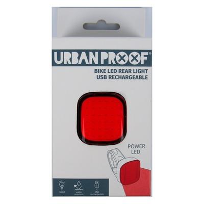 Éclairage arrière Urban Proof LED Power Bike USB Noir