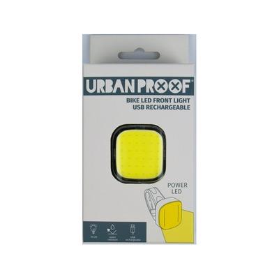 Éclairage avant Urban Proof LED Power Bike USB Noir