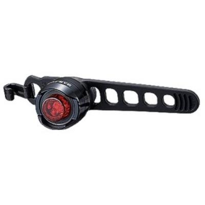 Éclairage vélo arrière Cateye Orb Noir Poli