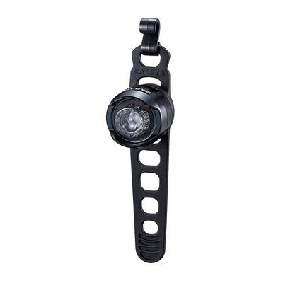Éclairage vélo arrière Cateye Orb Rechargeable Noir Poli