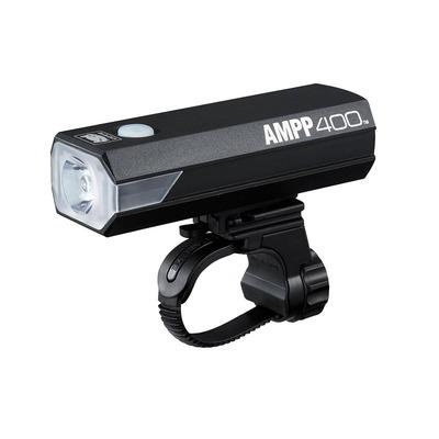 Éclairage vélo avant Cateye AMPP 400 Noir