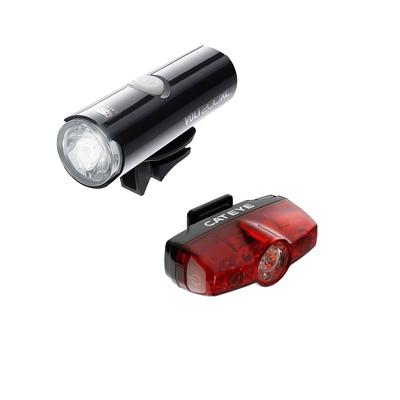 Éclairage vélo avant et arrière Cateye Volt 200 XC et Rapid Mini Noir