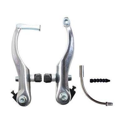 Étrier de frein AV/AR VTT v-brake en aluminium Argent