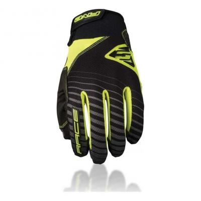 Gants VTT Five Race Kids Jaune Fluo