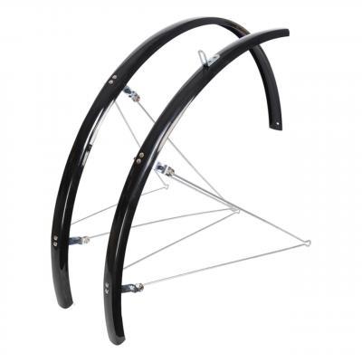 Garde-Boue avant et arrière Étroit pour Vélo 31 mm 700C/27'' Noir OXC