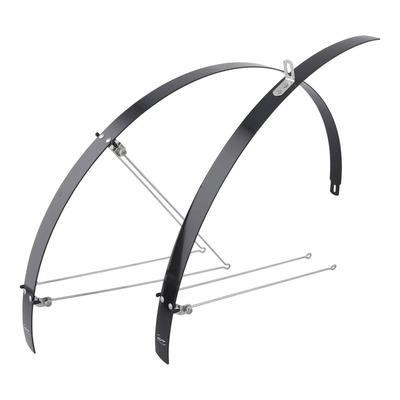 Garde-boue vélo Contec Flat Fender Noir (paire)