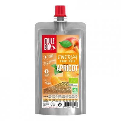 Gourde pulpe de fruits Mulebar Abricot 65 g