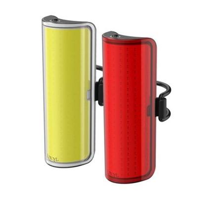 Kit d'éclairages avant + arrière Knog Big Cobber Twinpack Noir