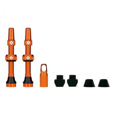 Kit de valves Tubeless Muc-Off 44 mm Orange (La paire)
